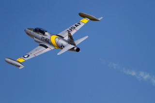 Canadair CT 133 Silver Star Wallpaper for Android, iPhone and iPad