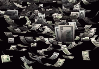 Dollars Cash Background for Android, iPhone and iPad