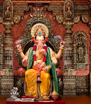 Free Shree Ganesh Picture for HTC Titan