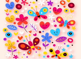 Summer Pattern Background for Android, iPhone and iPad