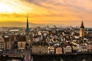 Zurich Background for Android, iPhone and iPad