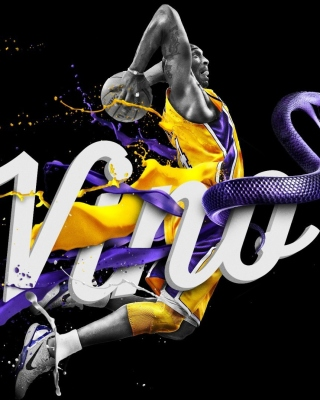 Kobe Bryant Wallpaper for 320x480