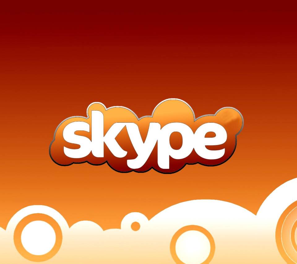 Skype for calls and chat wallpaper 960x854