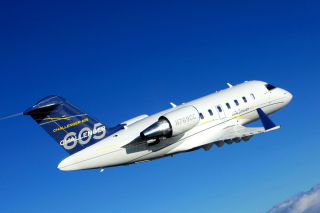 Bombardier Challenger 605, Aviation Wallpaper for Nokia XL