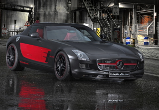 Mercedes-Benz SLS AMG Background for Nokia C3