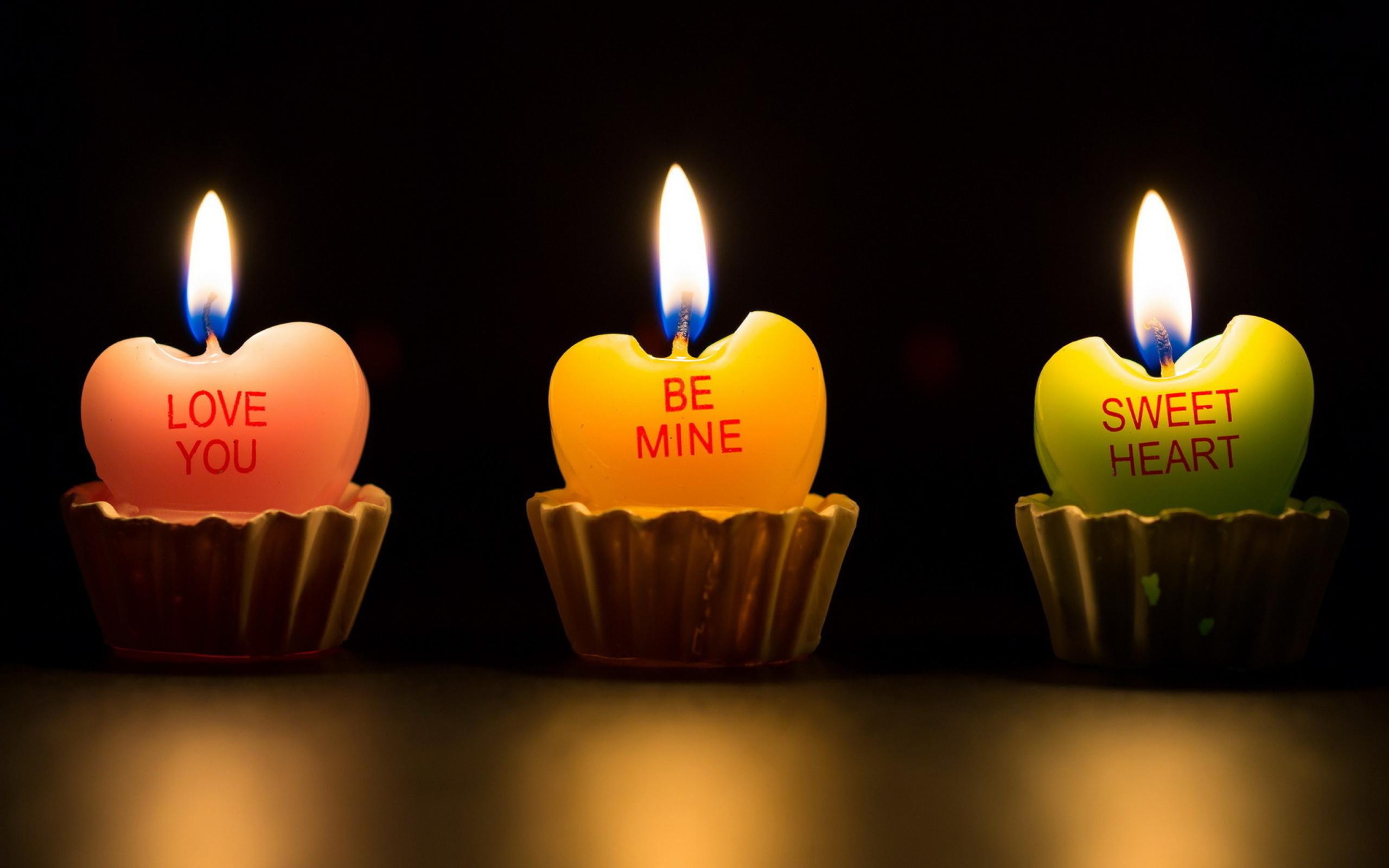 свеча сердца без смс