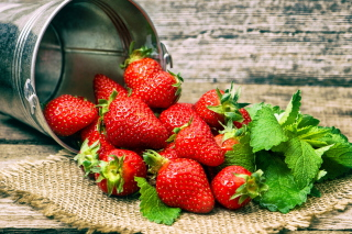 Strawberries Wallpaper for Android, iPhone and iPad