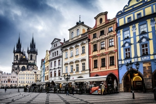 Free Prague Old Town Square Picture for Android, iPhone and iPad