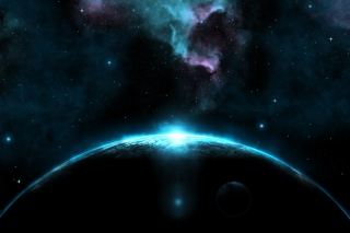 Giant Dark Blue Planet - Fondos de pantalla gratis