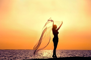 Free Dancing In Sunset Light Picture for Android, iPhone and iPad