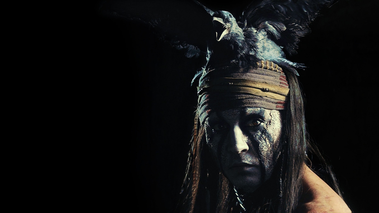 Johnny Depp As Tonto - The Lone Ranger Movie 2013