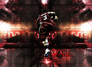 Dwyane Wade - Head Guard Background for Android, iPhone and iPad
