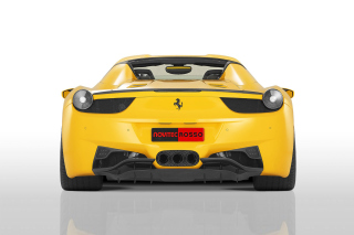 Ferrari 458 Spider from NOVITEC ROSSO Background for Android, iPhone and iPad