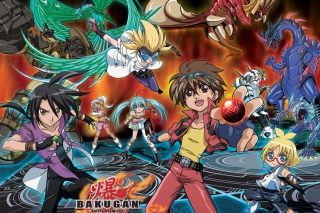 Bakugan Battle Brawlers HD - Obrázkek zdarma pro Widescreen Desktop PC 1920x1080 Full HD