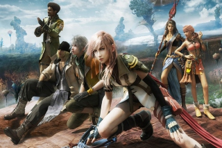 Final Fantasy XIII sfondi gratuiti per cellulari Android, iPhone, iPad e desktop