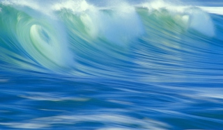 Free Blue Waves Picture for Android 720x1280