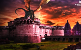 Dragon Fury Background for Android, iPhone and iPad