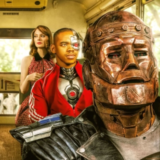 Doom Patrol Background for 208x208