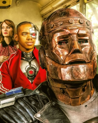 Doom Patrol Background for Nokia 5233