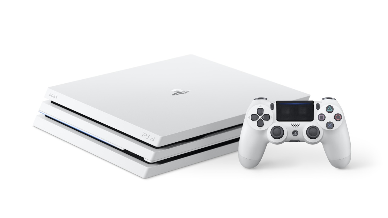 Das PS4 Pro Console Wallpaper 1280x720