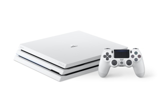 PS4 Pro Console Background for LG Optimus U