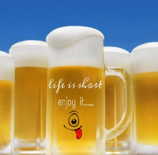 Life is short - enjoy it - Fondos de pantalla gratis para 1024x1024