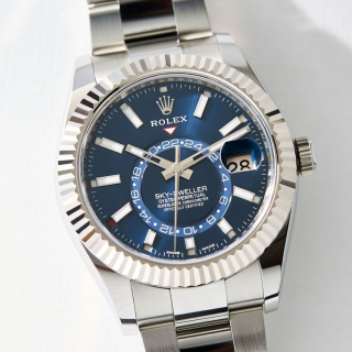 Free Rolex Sky Dweller Steel Picture for iPad 3