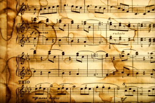 Musical Notes Wallpaper for Desktop 1280x720 HDTV