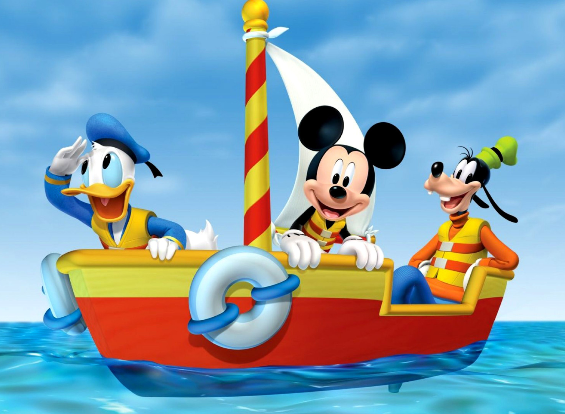 Sfondi Mickey Mouse Clubhouse 1920x1408