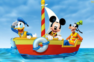 Mickey Mouse Clubhouse Background for Android, iPhone and iPad