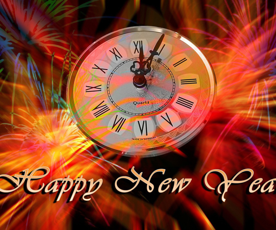 Screenshot №1 pro téma Happy New Year Clock 960x800
