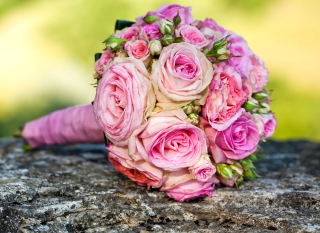 Wedding Bridal Bouquet Background for Android, iPhone and iPad