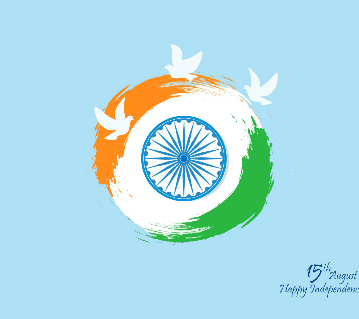 15th August Indian Independence Day wallpaper 1440x1280