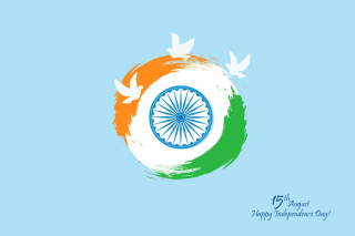 15th August Indian Independence Day - Obrázkek zdarma pro Desktop 1280x720 HDTV