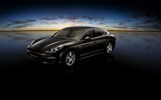 Porsche Panamera S Turbo Background for Android, iPhone and iPad