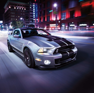 Free Shelby Mustang Picture for iPad mini