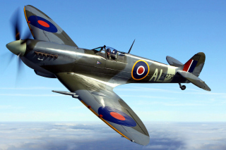 Free Supermarine Spitfire Picture for Android, iPhone and iPad