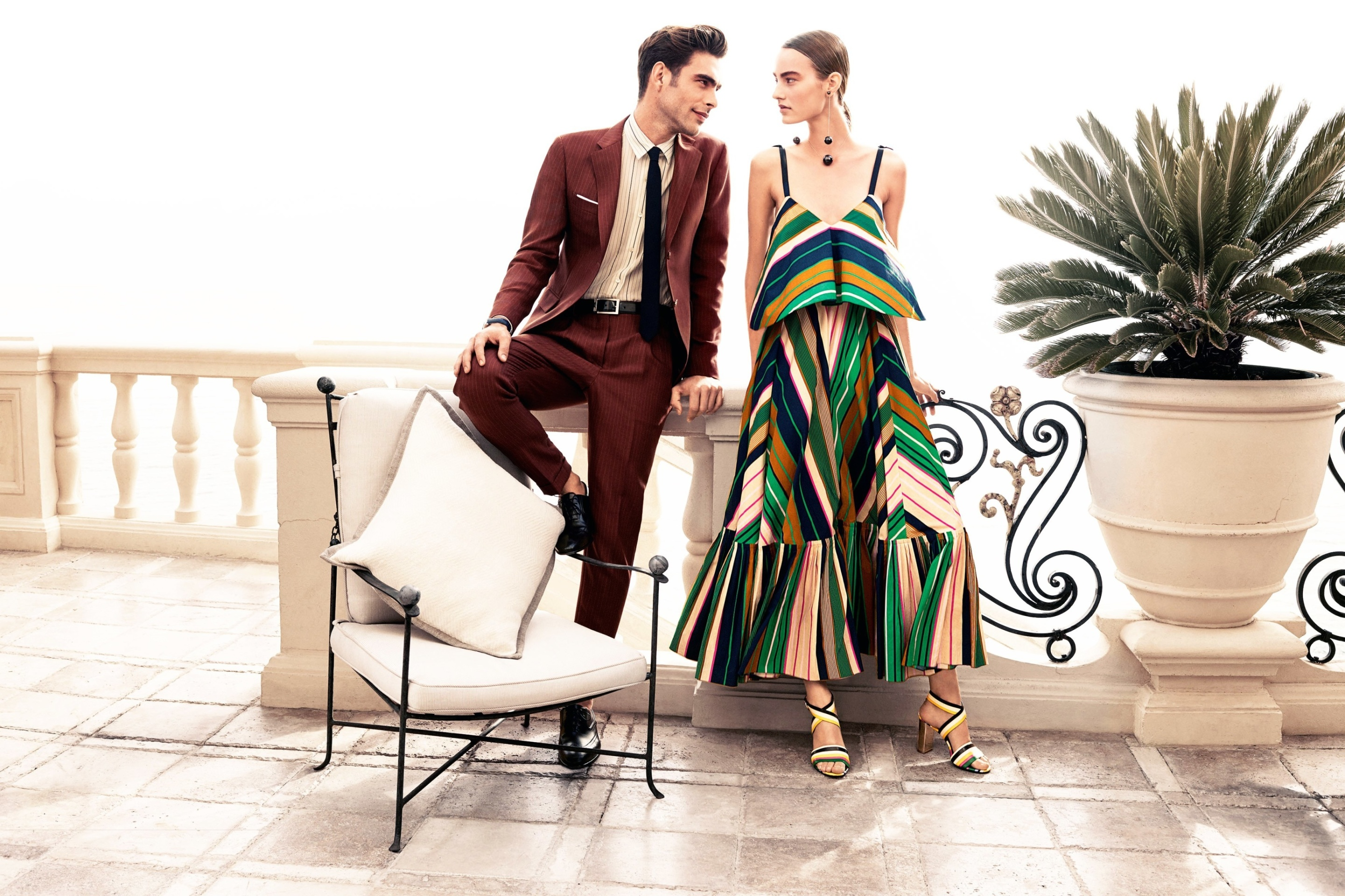 Das Salvatore Ferragamo Summer Fashion Wallpaper 2880x1920