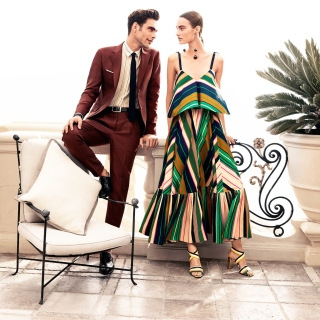 Free Salvatore Ferragamo Summer Fashion Picture for LG KP105