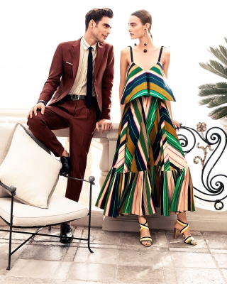 Salvatore Ferragamo Summer Fashion sfondi gratuiti per iPhone 6 Plus