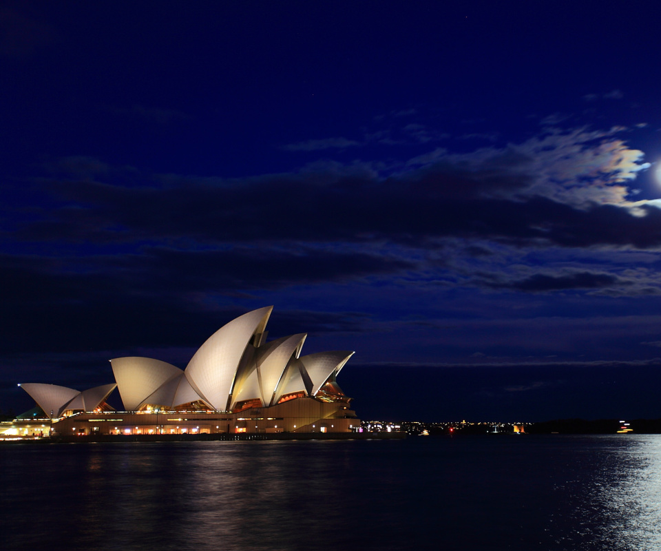 Screenshot №1 pro téma Opera house on Harbour Bridge in Sydney 960x800