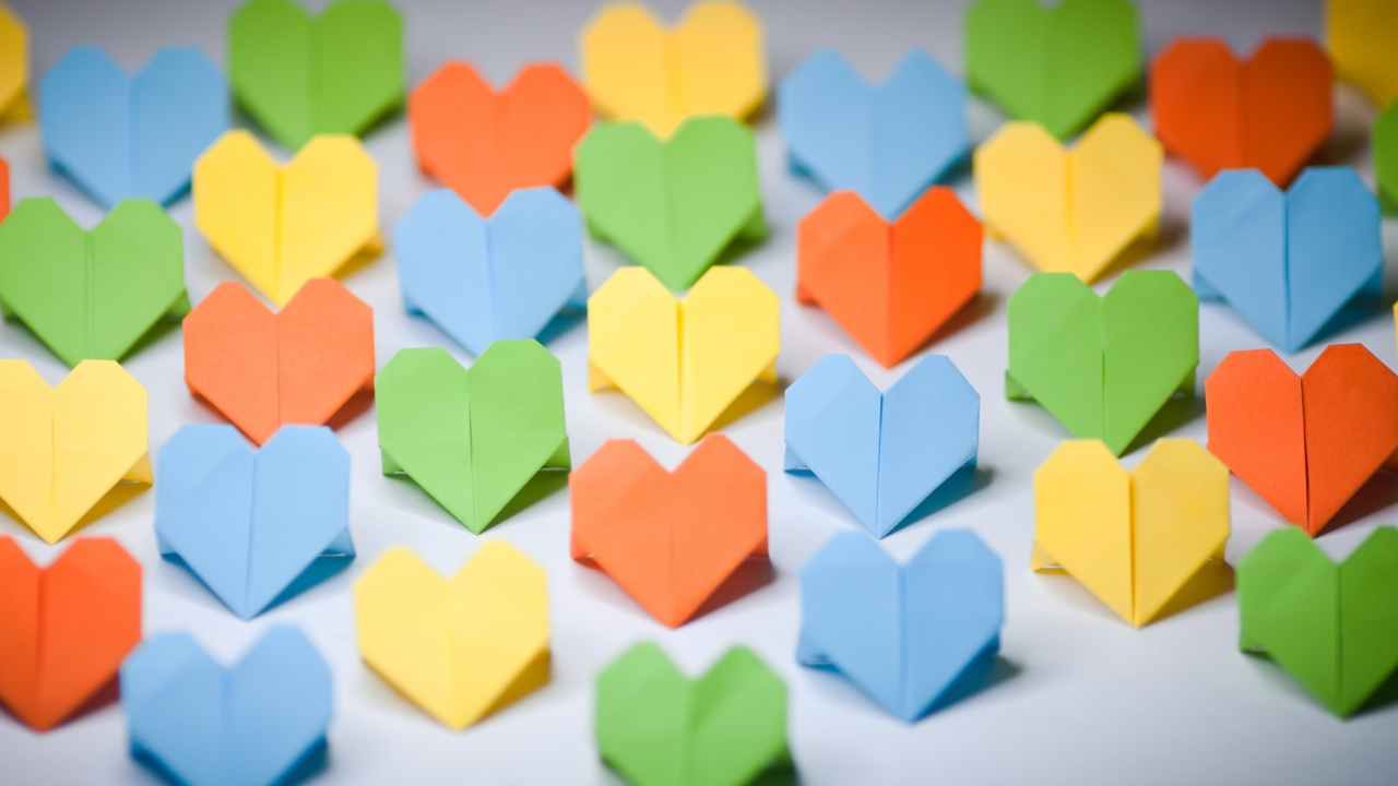 Miscellaneous Origami Hearts