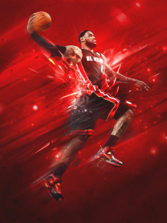 Screenshot №1 pro téma Lebron James 240x320