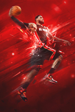 Screenshot №1 pro téma Lebron James 320x480