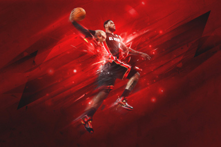 Lebron James Background for Android, iPhone and iPad