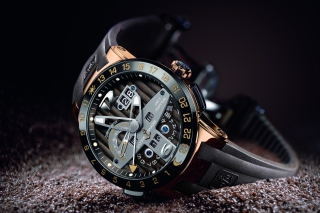 Ulysse Nardin Swiss Watch Background for Android, iPhone and iPad