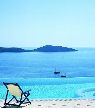Relaxing Vacation Wallpaper for 480x800