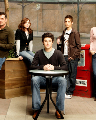 Kyle XY with Jean Luc Bilodeau Picture for Sharp GX34