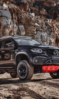 Screenshot №1 pro téma 2020 Mercedes Benz X class Tuning 240x400