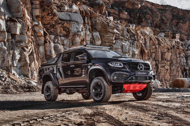 2020 Mercedes Benz X class Tuning wallpaper